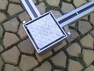Abwasser-Gully aus Edelstahl