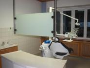 Raumteiler Zahnarztpraxis