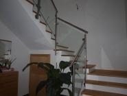 Geländer mit bruchsicherem Glas