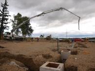 Fundamente werden gelegt
