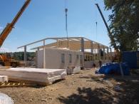 Baubeginn der Produktionshalle